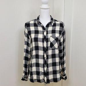 Target universal thread buffalo check plaid shirt
